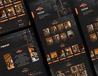 Waffle Tone Website Design