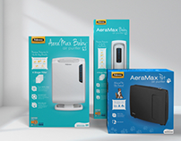 Fellowes Baby and Pet Air Purifier Packaging