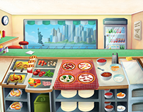 Pizzeria - Time management Game