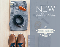 Mens' collection | Demo Banner