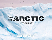 Interactive Style Guide for Greenpeace Arctic Campaign