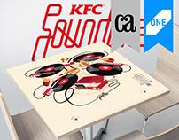 KFC SoundBite Table