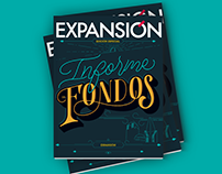 Lettering magazine cover (EXPANSIÓN)