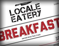 Locale Eatery Breakfast/Lunch Menu
