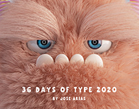 36 Days Of Type - 2020 Monster