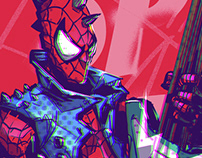 Spider punks!