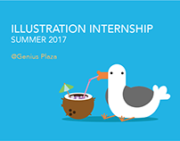 Genius Plaza | Illustration Internship