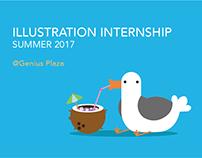 Genius Plaza | Illustration Internship