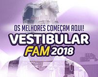 Campanha Vestibular de Verão 2018 - FAM