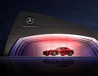 Mersedes-Benz, Exhibition Pavilion, concept