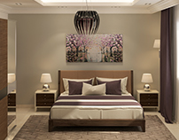 Hotel apartments bedroom