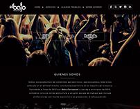 Web elBajo producciones