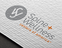 Spine + Wellness Centers of America : Brand Identity
