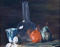still life - bottle