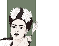 Frida Kahlo - Illustration