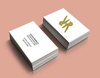 Rivkah Rebelle Branding and Business Card Design