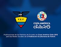 SOCIAL MEDIA. FEF en Copa América Chile 2015