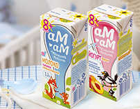 Am Am babyfood packagedesign