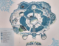 Arctic World Map