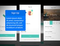 Carousel Mobile App Mockup