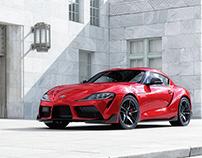 2020 Toyota Supra - CGI & Photography & Retouching