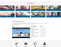 PE Public Institutions WordPress Theme