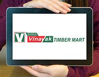 Shree Vinayak Timber Mart Logo Design