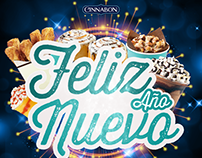 Happy New Year - Cinnabon