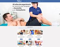 Pagina Web Fisio Express