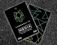 LaserWolf FX Brand Identity