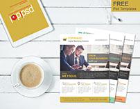 Free Multipurpose Corporate Flyer Psd Template