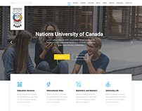 Nations University of Canada - Website