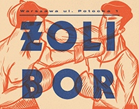 Żoliborska Szkoła Boksu x poster