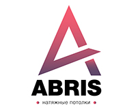 Logo for stretch ceiling website Abris