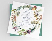 Civil Wedding Invitation