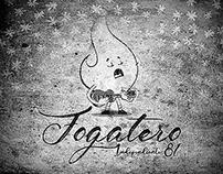 """Diseño gráfico, álbum """"Fogatero"""" - Independiente 81"""