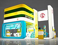 F5 exhibition stand design