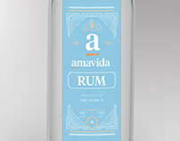 Amavida Liquor Labels