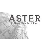 Aster - Free Slab Serif Regular Font