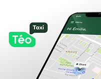 Téo Taxi mobile app