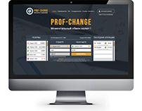 Money exchange prototype site
