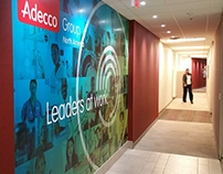 Adecco Environmental Graphics - Wall Wraps