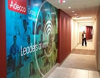 Adecco Environmental Graphics - Wall Wraps