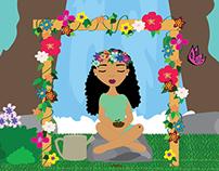 Illustration Friday Challenge: Garden