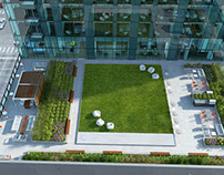 Landscape Architecture - Roof Deck - 200 N. Michigan