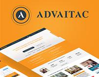 Дизайн личного сайта для астролога