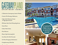 Gateway Plano eBlast Design