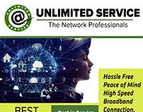 Print Media Design for Unlimited Service