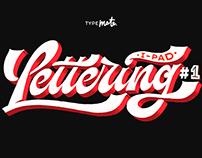 iPad Lettering #1