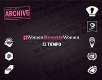 #WomenRewriteWomen / El Tiempo
